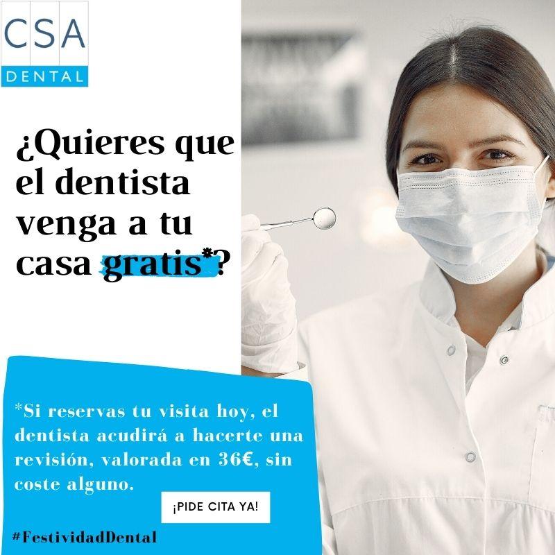 ¿Quieres que el dentista venga a tu casa gratis__