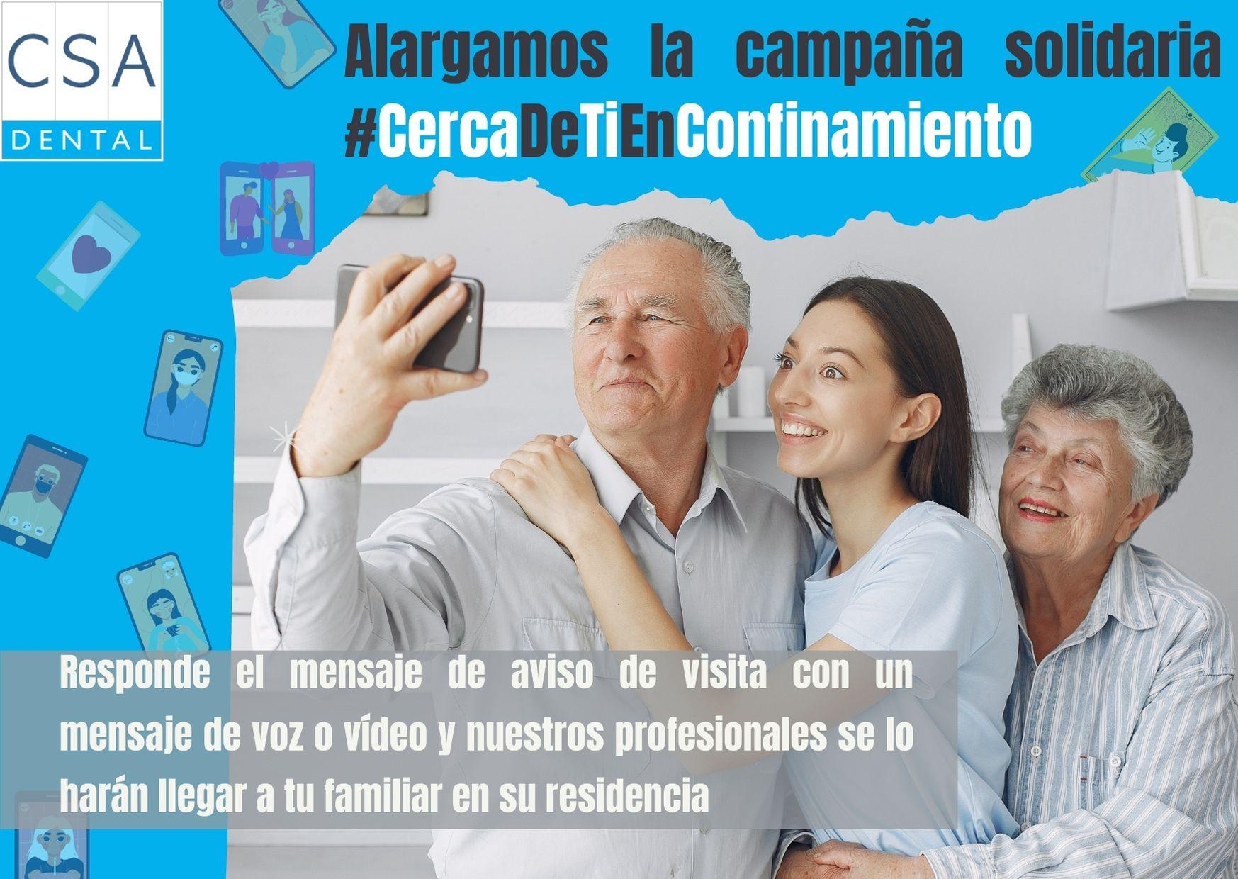 Campaña solidaria #CercaDeTiEnNavidad