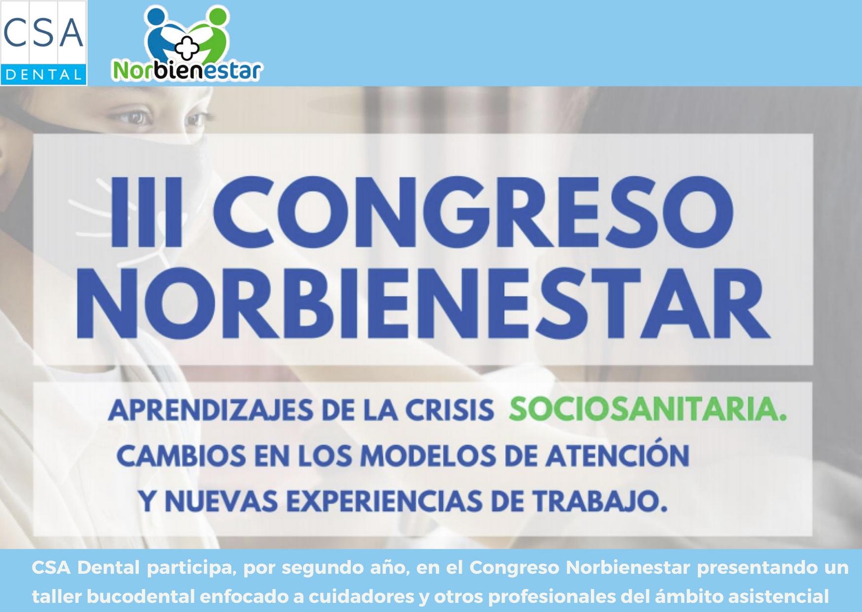 CSA Dental participa en el III Congreso Norbienestar